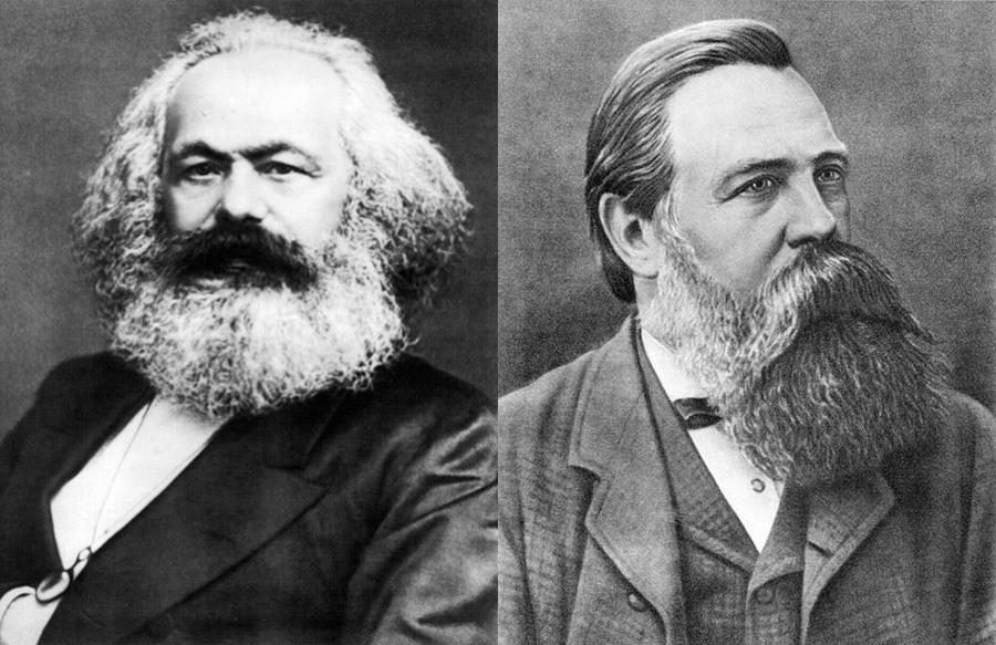 Karl Marx Friedrich Egngels