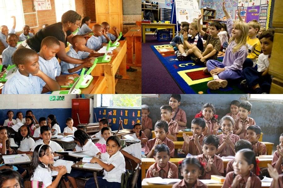 Kids Classrooms Worldwide