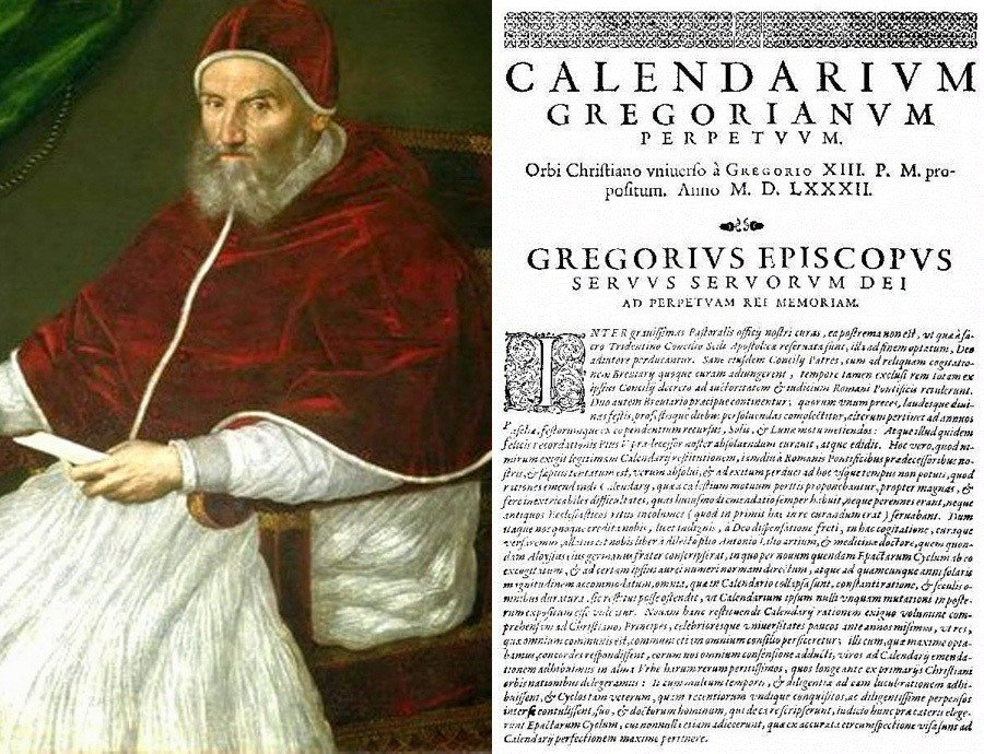 Leap Year Facts Pope Gregory