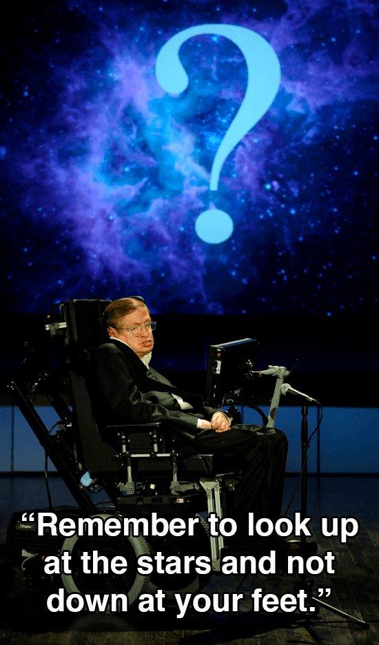 Stephen Hawking Quotes About Stars