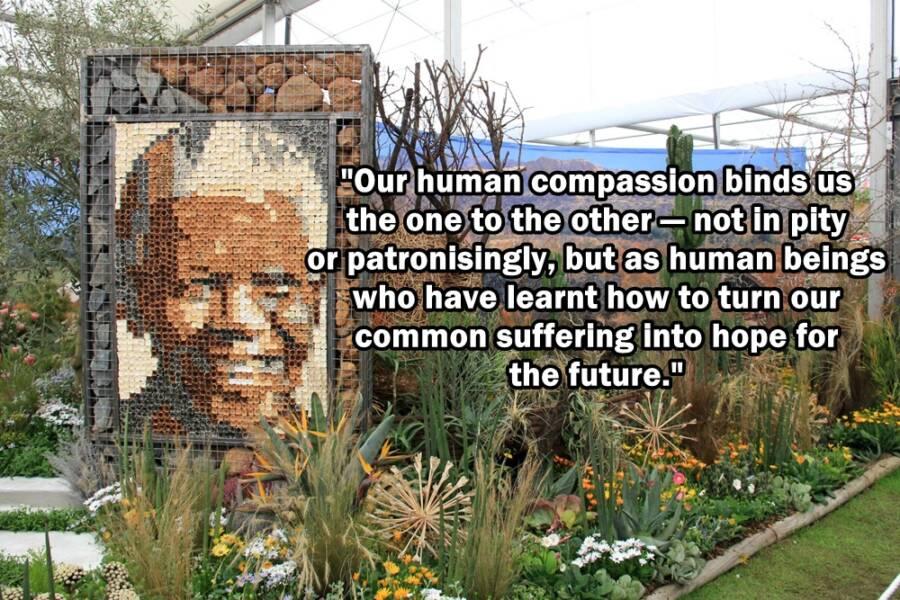 Mandela Flower Garden