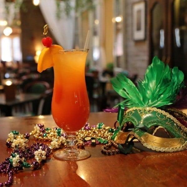 Mardi Gras Cocktails Hurricane