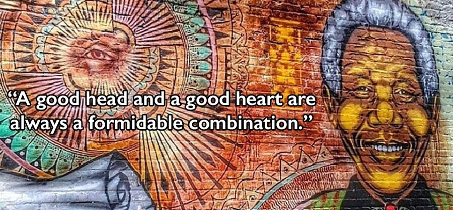 Nelson Mandela Quotes Head