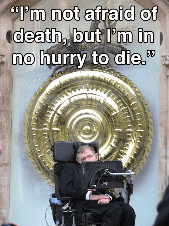 Stephen Hawking On Death