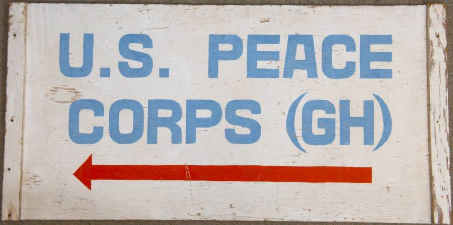 Peace Corps Ghana Sign