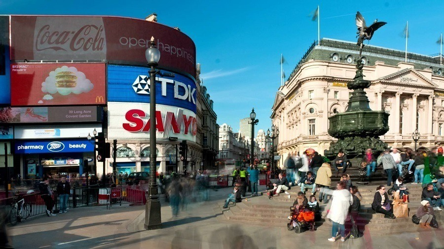 Piccadilly Circus Now