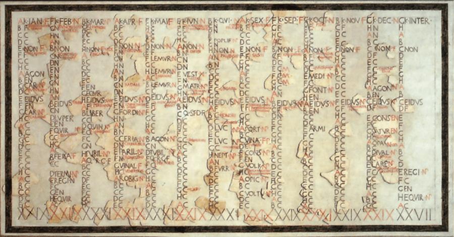 Pre Julian Calendar