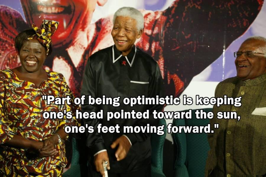 President Mandelas Appearance