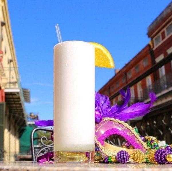 Ramos Gin Fizz Mardi Gras Cocktails
