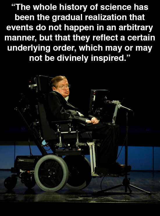 Hawking On Divine Inspiration