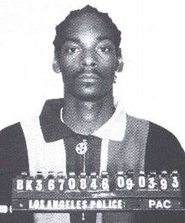 Snoop Dogg Mugshot