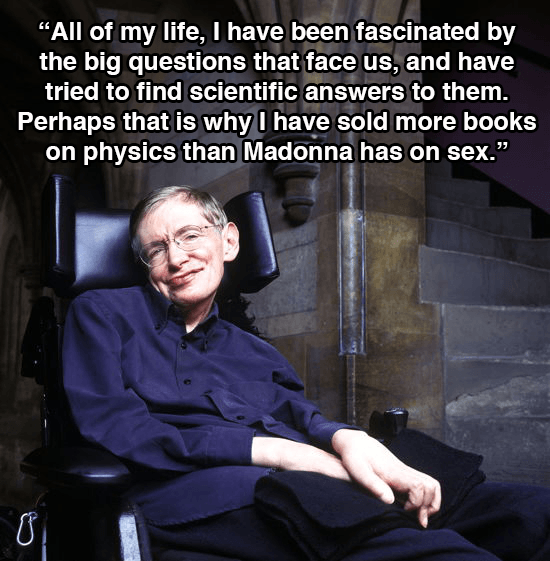 Stephen Hawking Physics Books