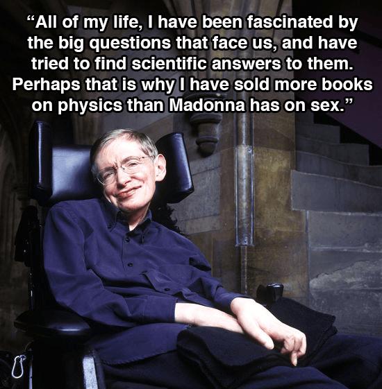Stephen Hawking Physics Books