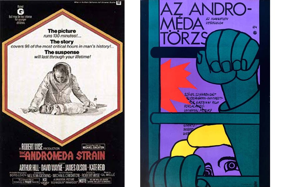 The Andromeda Strain Posters