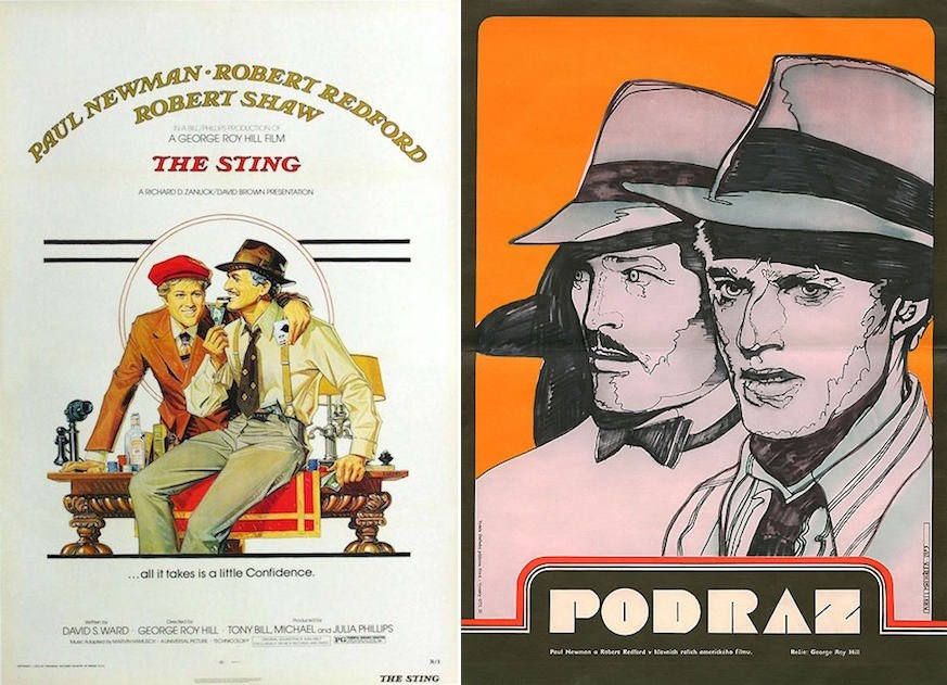 The Sting Movie Posters