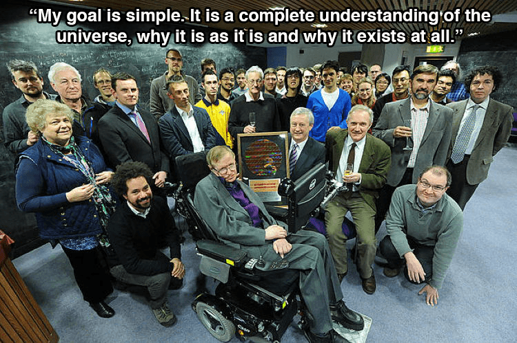 Hawking On The Universe