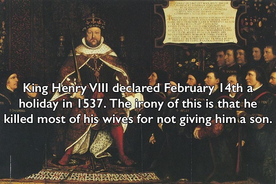 Henry VII And Valentine's Day