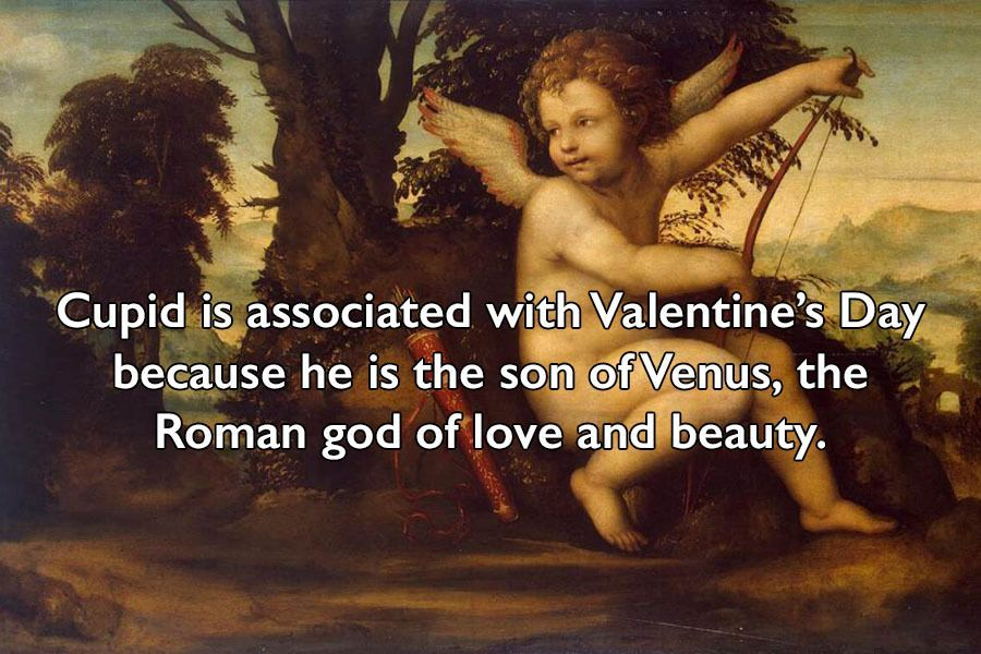 Valentine's Day Facts About Cupid