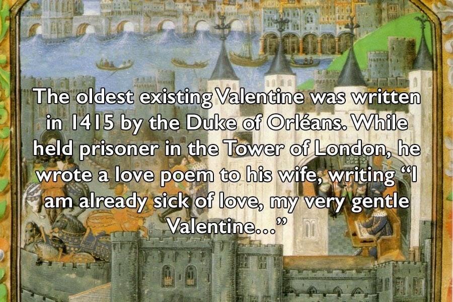 Duke Of Orleans World's Oldest Valentine