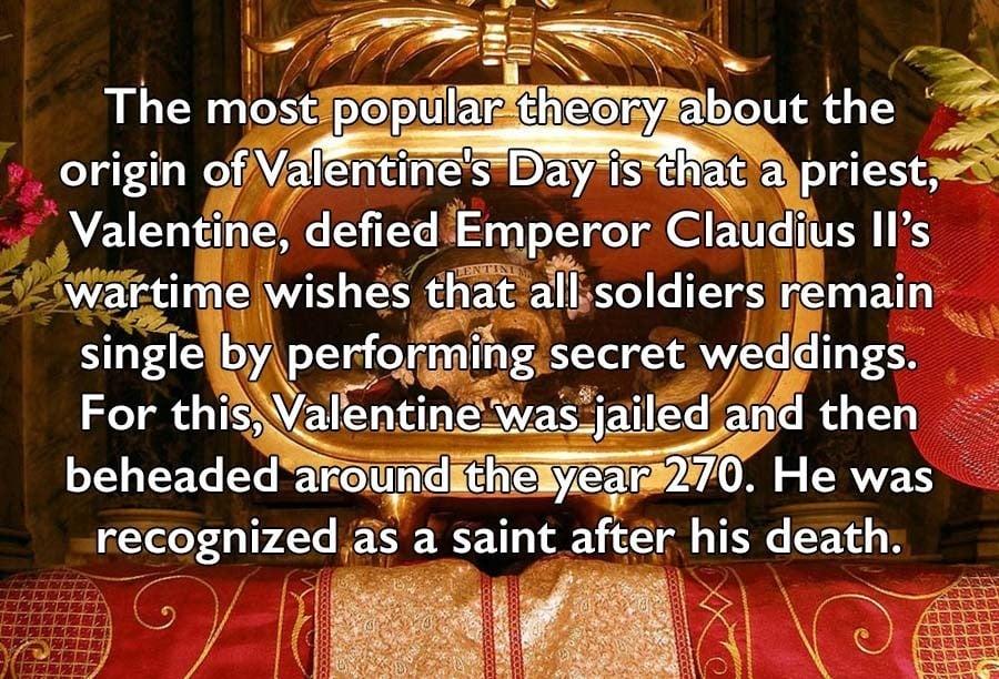 Valentines Day Facts Skull Valentine Beheaded