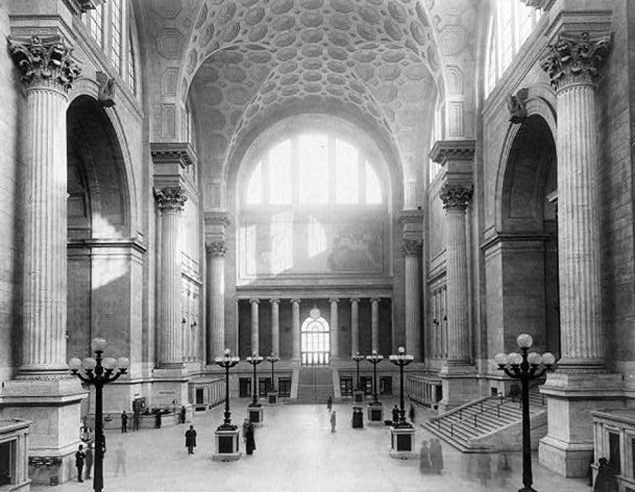 Vintage Penn Station