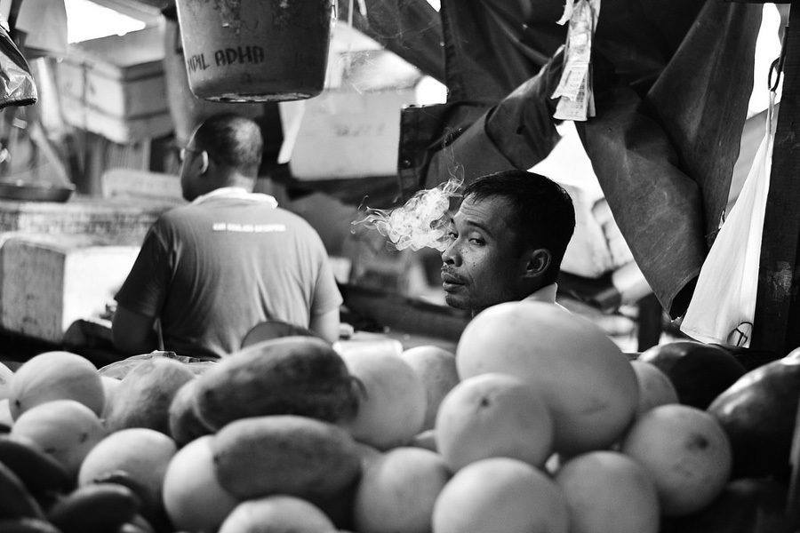 Best Street Photography Smoking Melons