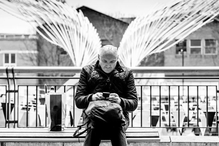 Best Street Photography Angel Wings