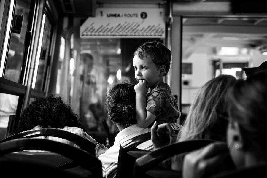 Best Street Photography Child Bus