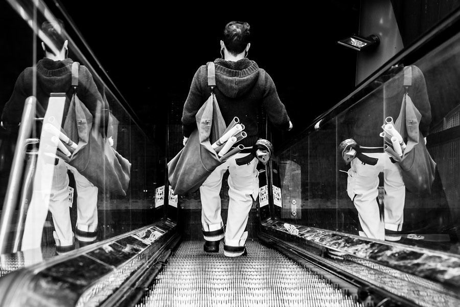 Best Street Photography Escalator