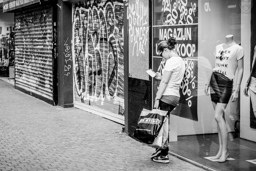 Best Street Photography Mannequin Mirroring