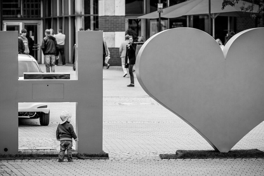 Best Street Photography Toddler Heart