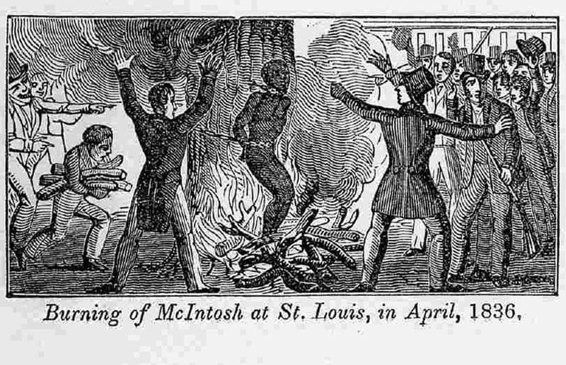 Burning McIntosh 1840