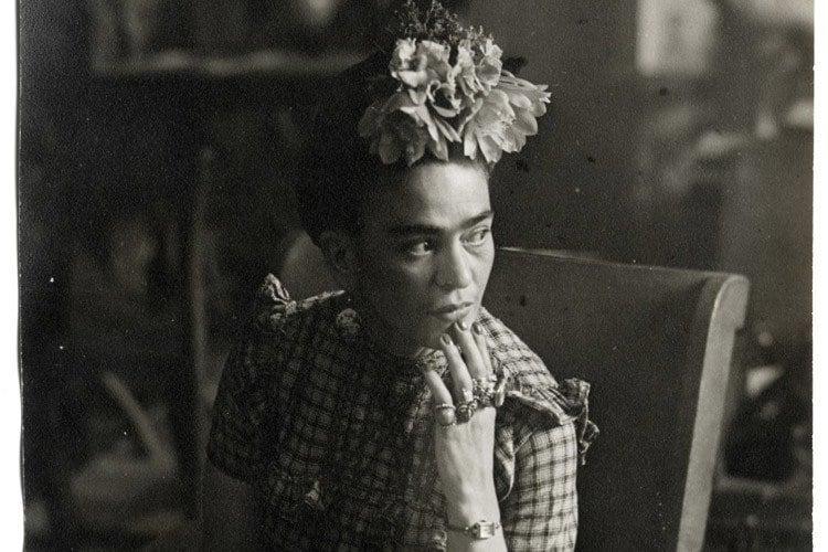 Frida Kahlo Life Chair Pose