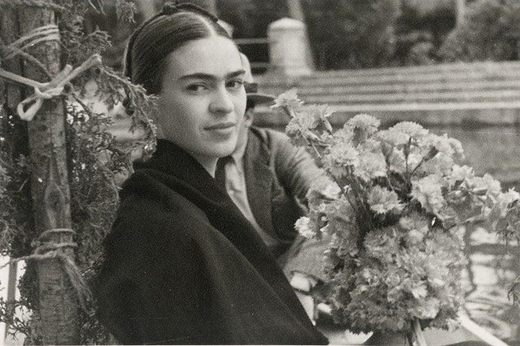 Frida Kahlo Life Flowers