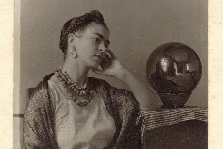 Frida Kahlo Life Gazing Ball