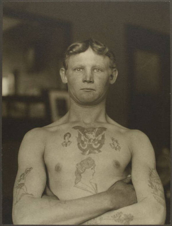 Ellis Island immigrant portraits German Stowaway