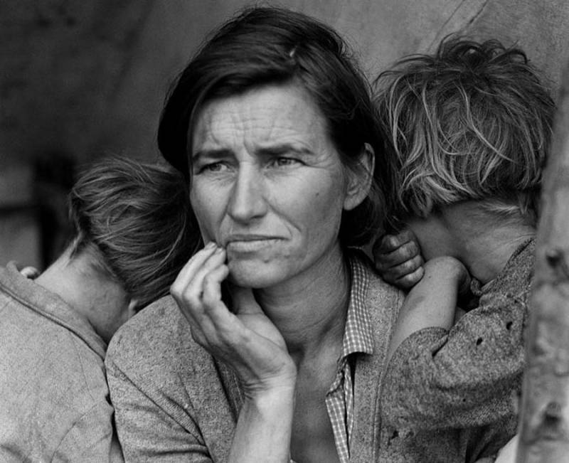 Great Depression Photos Migrant Mother