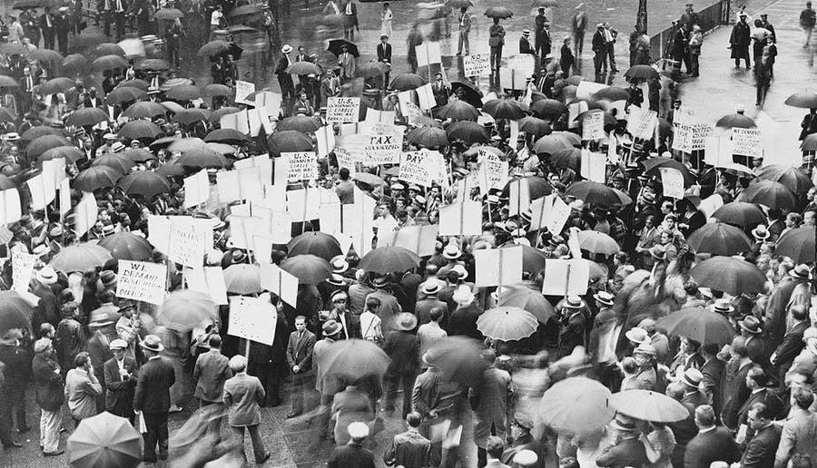 Great Depression Photos Bank US