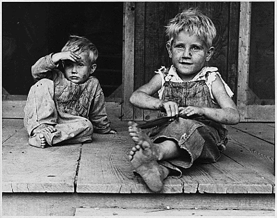 Great Depression Photos Boys