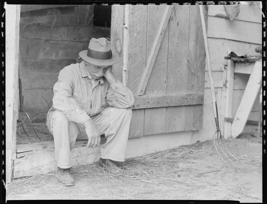 Great Depression Photos Despair