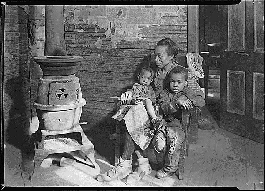 Great Depression Photos Hardship