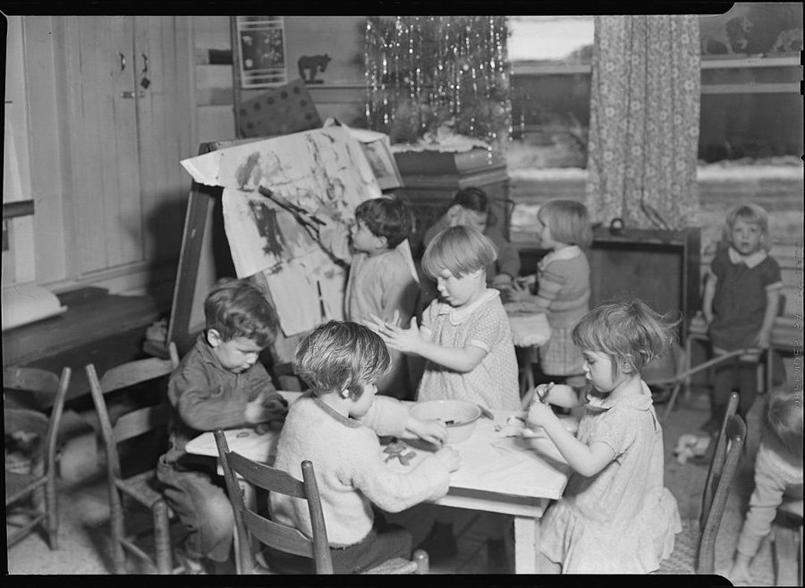 Great Depression Photos Nursery