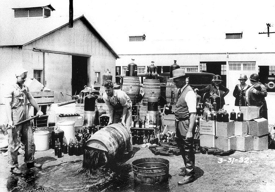 Great Depression Photos Prohibition