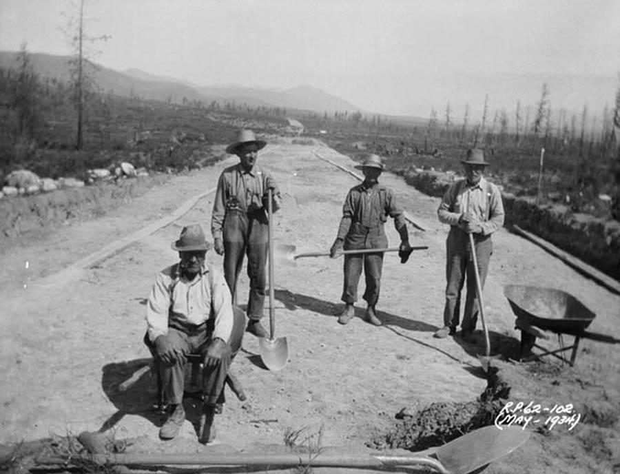 Great Depression Photos Relief Work