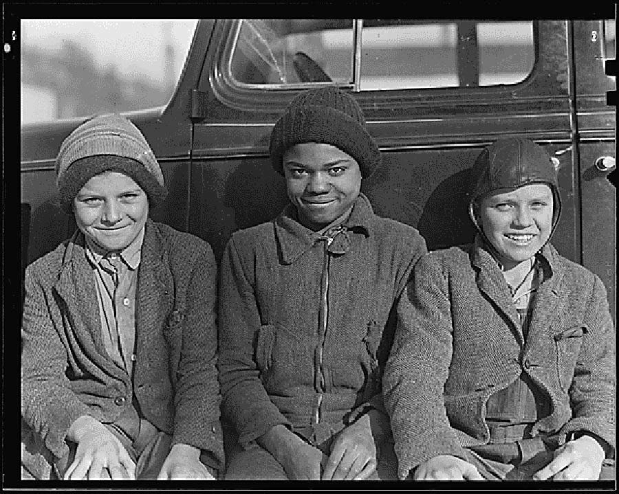 Great Depression Photos Segregation