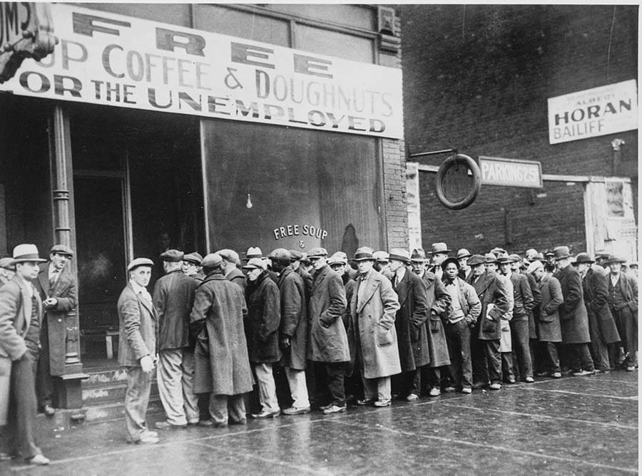 Great Depression Photos Soup Kitchen