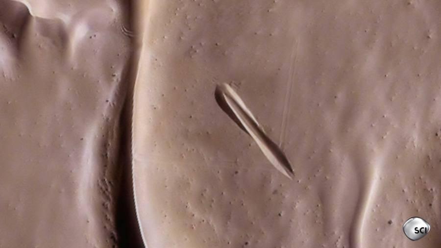 Mysterious Sand Print