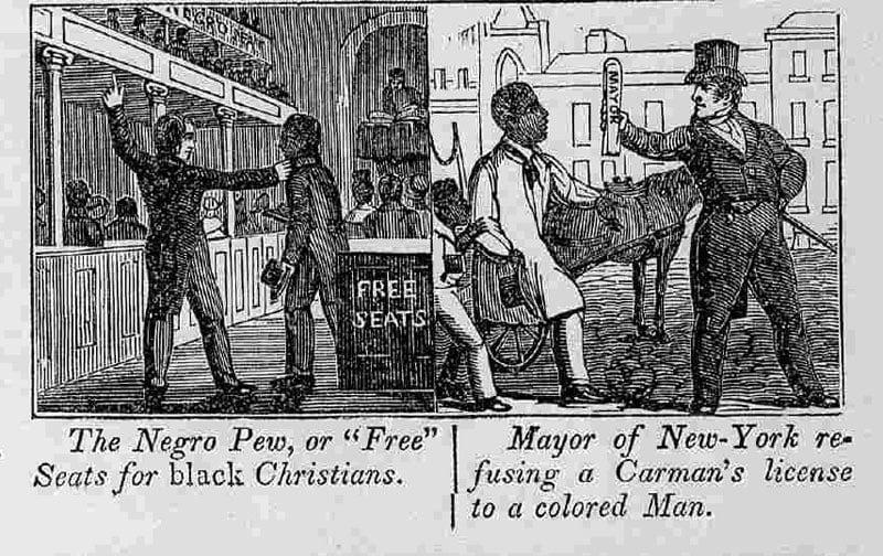 Negro Pew 1840