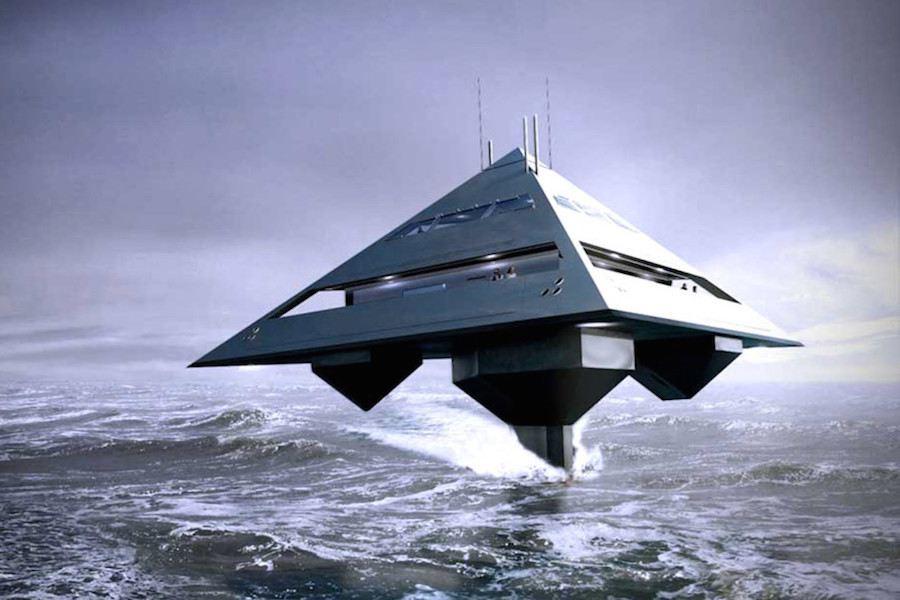 Schwinge Tetra Super Yacht