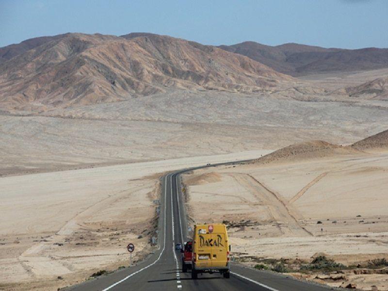Arica Iquique Road Chile